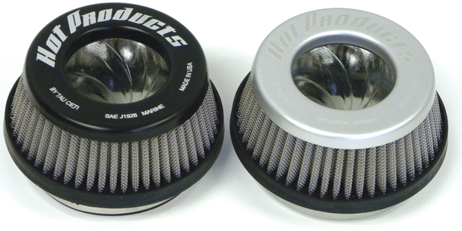 "Hot Products Air Filter 1 1/2"" Tall - Black"