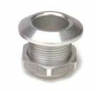 Aluminum Nose Bushing Large Silver