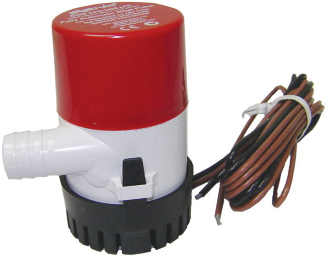 Rule Bilge Pump 500 GPH Automatic  25S-6WC