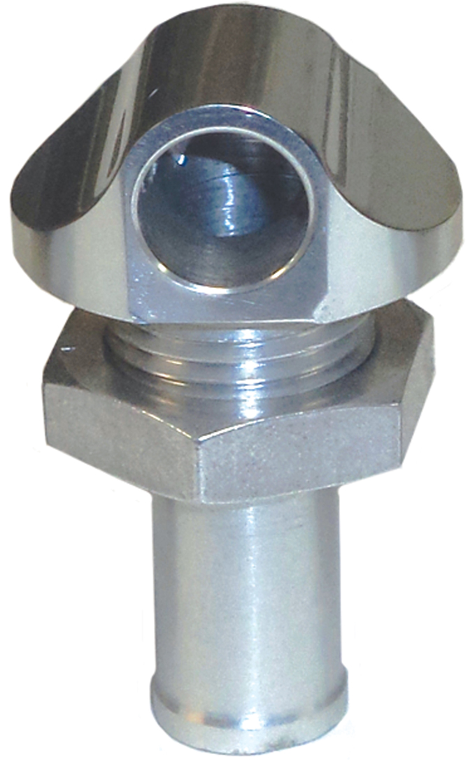 "3/8"" 90 Degree Water Bypass Fitting Silver  56-2010"