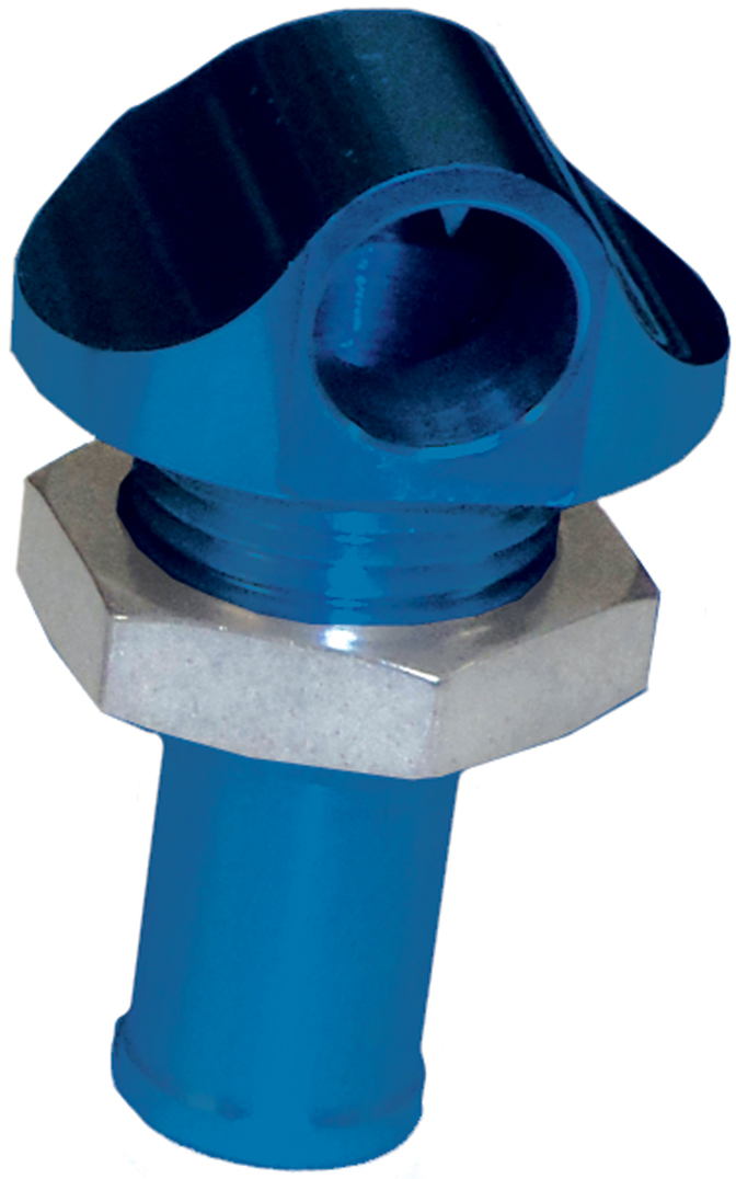 "3/8"" 90 Degree Water Bypass Fitting Blue  56-2014"