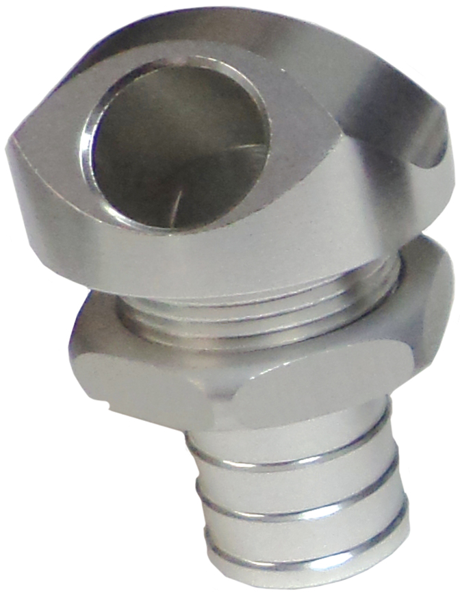 "1/2"" 45 Degree Water Bypass Fitting Silver  56-3020"