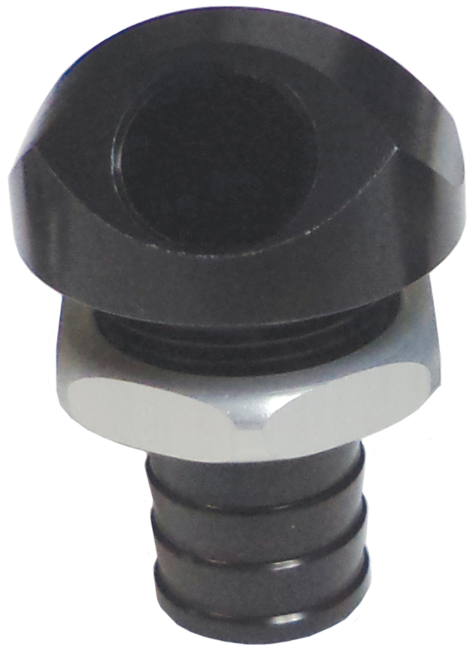 "3/8"" 45 Degree Water Bypass Fitting Black  56-2022"