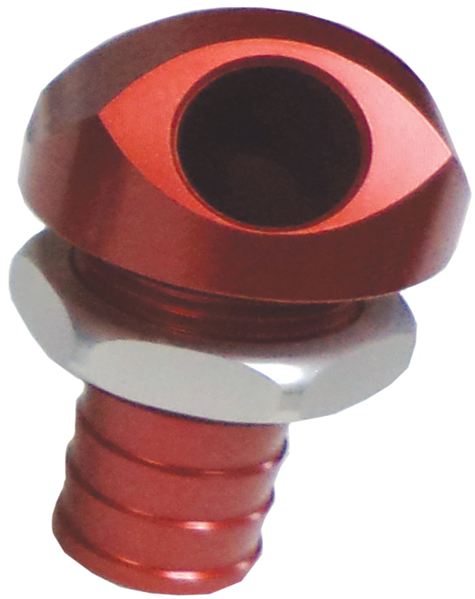 "1/2"" 45 Degree Water Bypass Fitting Red  56-3026"