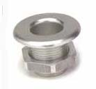Aluminum Nose Bushing Small Silver
