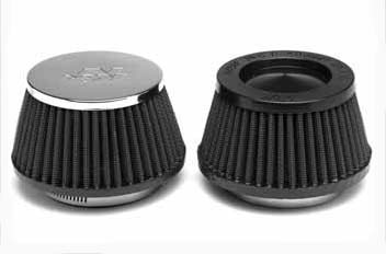 "K&N 2 1/2"" Race Filter Black Top"