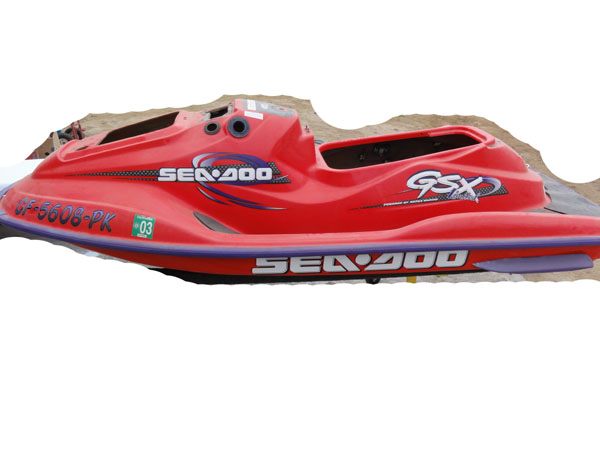 Sea Doo 1998 GSX LTD Hull Rails and bumpers only
