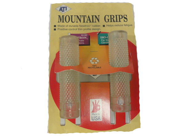 ATI Mountain Bike Grips Clear