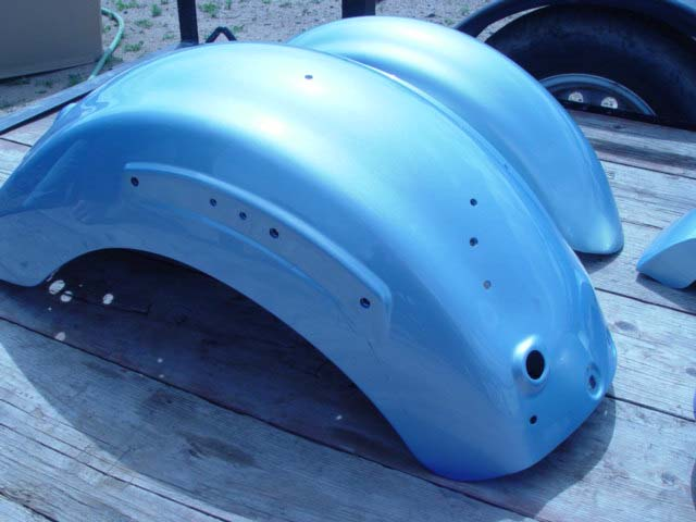 Kawasaki Vulcan Fuel Tank, Fenders and Covers