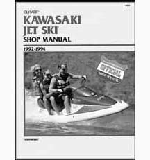 Clymer Repair Manual Kawasaki 92-94