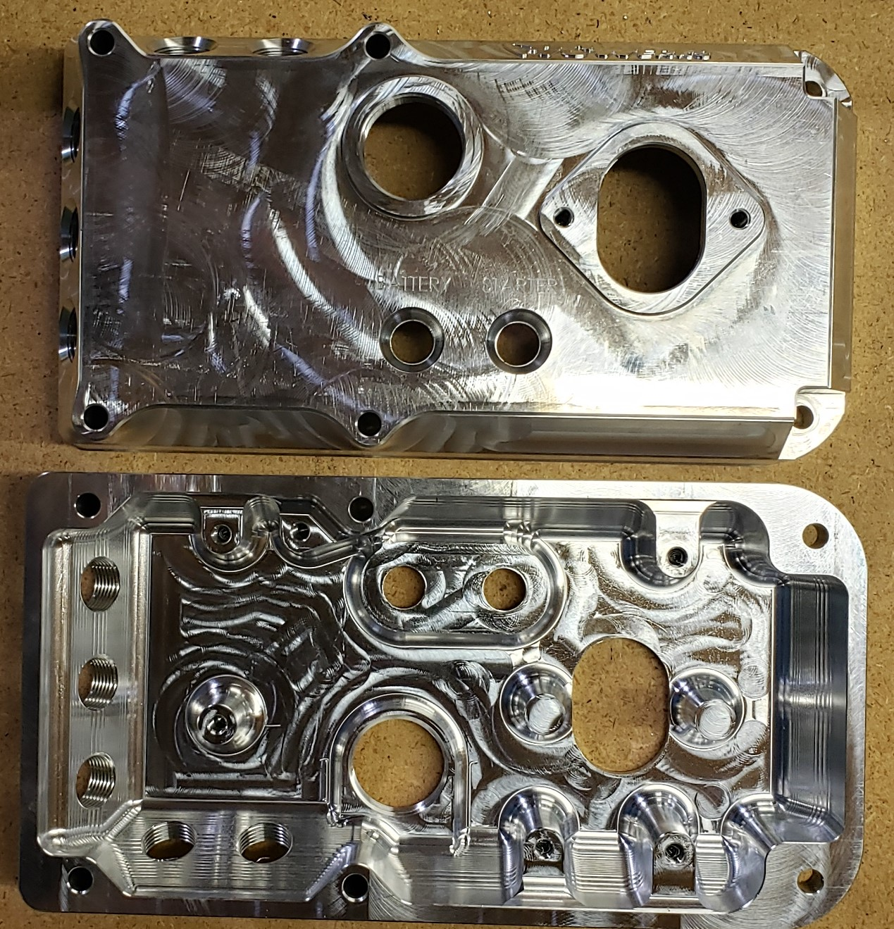 Custom made 550/750 Conversion Billet Aluminum E-Box