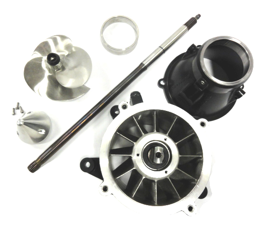 SkatTrak SeaDoo XP Limited Mag 12 Jet Pump, Impeller, Driveshaft