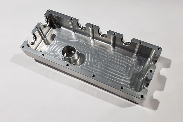 Yamaha Billet Aluminum E-Box Front Cover - Clear Anodized
